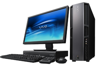 sony launched the vaio vgc rm1 desktop computer which is a hd video ...